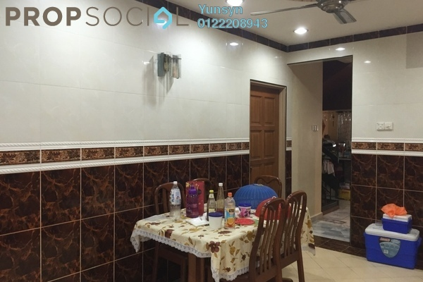 For Sale Terrace at Taman Ehsan, Kepong Leasehold Semi Furnished 4R/3B 848k