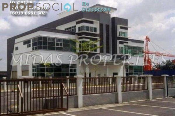 For Rent Factory at Taman Batu Tiga, Subang Jaya Leasehold Unfurnished 0R/0B 40k