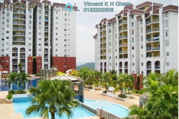 For Sale Condominium at Ketumbar Hill, Cheras Freehold Semi Furnished 4R/2B 415k
