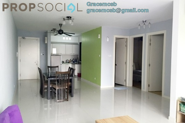 For Sale Condominium at Gembira Residen, Kuchai Lama Freehold Semi Furnished 3R/2B 755k