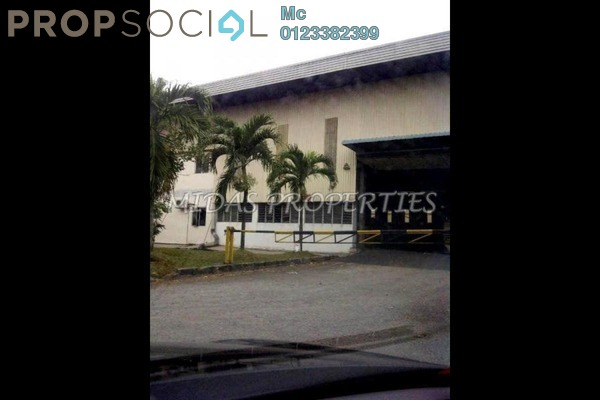 For Rent Factory at Section 23, Shah Alam Leasehold Fully Furnished 0R/0B 49.6k
