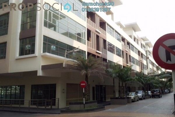 For Sale Shop at CBD Perdana 2, Cyberjaya Freehold Semi Furnished 1R/1B 7m