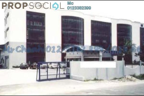 For Rent Factory at Kampung Jawa, Shah Alam Leasehold Semi Furnished 0R/0B 48k