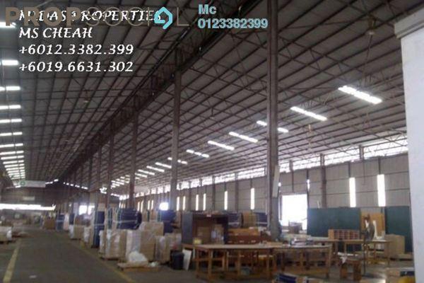 For Rent Factory at Pandamaran Industrial Estate, Port Klang Leasehold Semi Furnished 0R/0B 28k