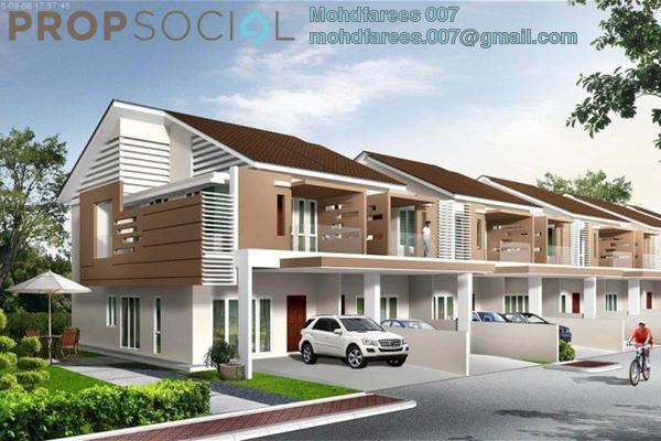 For Sale Terrace at Villa Primero, Seberang Jaya Freehold Unfurnished 4R/3B 720k