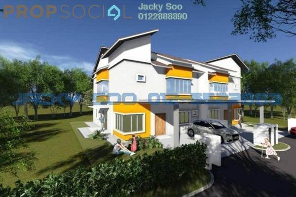 For Sale Semi-Detached at Bandar Baru Salak Tinggi, Sepang Freehold Unfurnished 5R/5B 660.0千