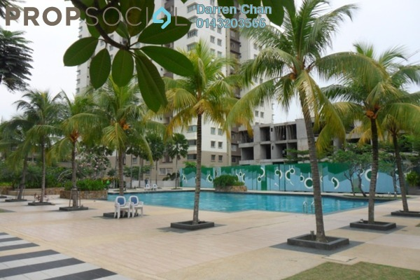 For Rent Condominium at Aman Heights, Seri Kembangan Freehold Semi Furnished 3R/2B 1.4k