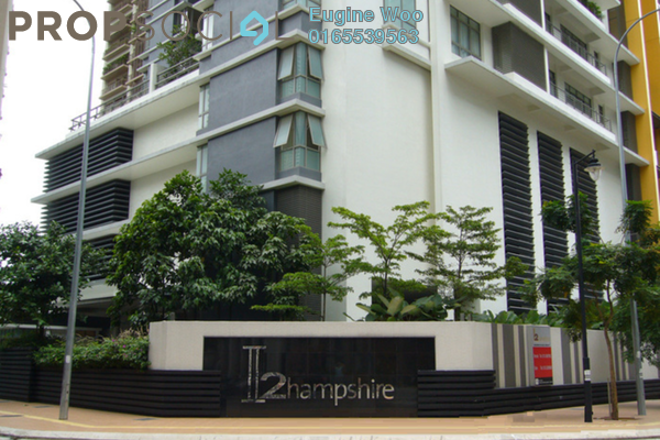 For Rent Condominium at 2 Hampshire, KLCC Freehold Semi Furnished 4R/5B 7k