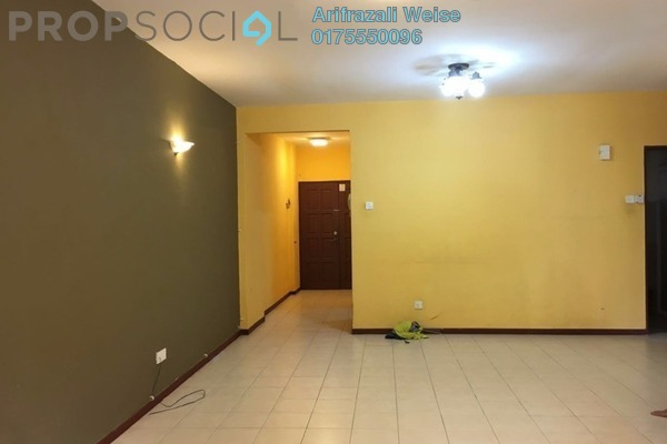 For Sale Condominium at Paradesa Tropika, Bandar Sri Damansara Freehold Semi Furnished 3R/2B 550Ribu