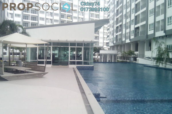 For Rent Condominium at Casa Tropika, Puchong Leasehold Unfurnished 3R/2B 1.2k