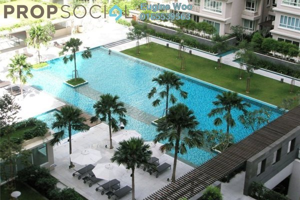 For Rent Condominium at Kiaraville, Mont Kiara Freehold Semi Furnished 3R/3B 5.7k