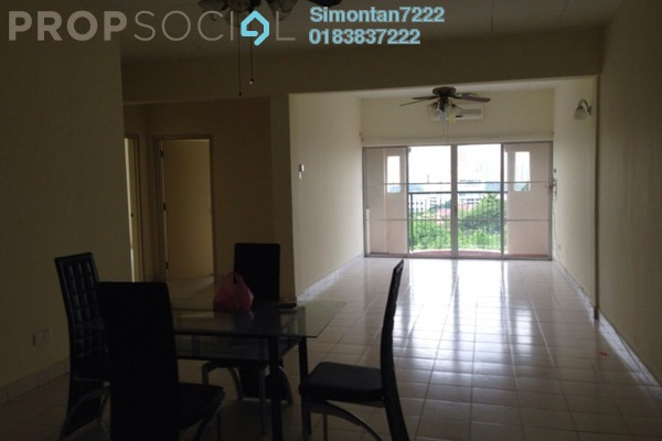 For Sale Condominium at La Vista, Bandar Puchong Jaya Freehold Semi Furnished 4R/3B 558k