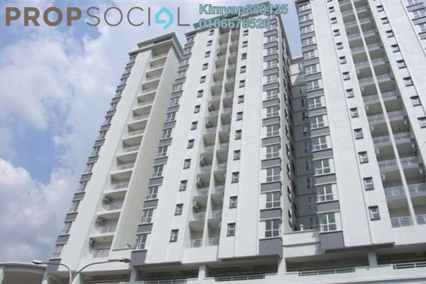 For Sale Condominium at Plaza Menjalara, Bandar Menjalara Leasehold Fully Furnished 3R/2B 610k