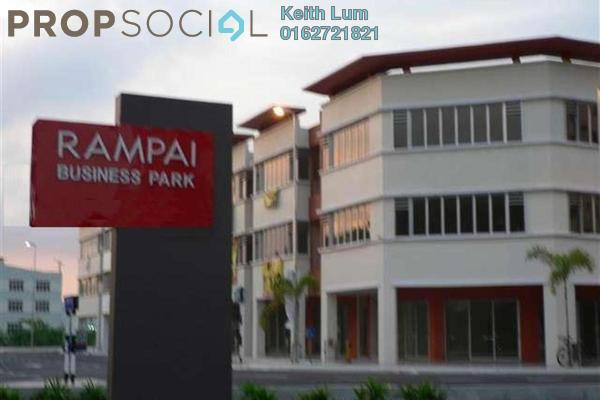For Rent Shop at Rampai Business Park, Setapak Leasehold Unfurnished 0R/0B 7.2k