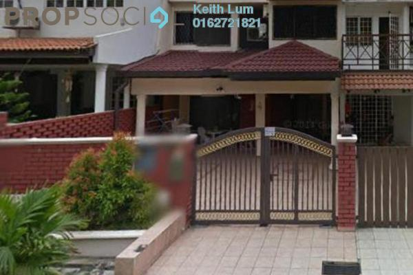 For Sale Terrace at Taman Kuchai Jaya, Kuchai Lama Leasehold Fully Furnished 4R/3B 1.3百万