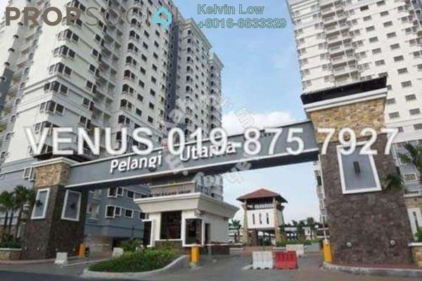 For Rent Condominium at Pelangi Utama, Bandar Utama Leasehold Semi Furnished 3R/2B 2.2k