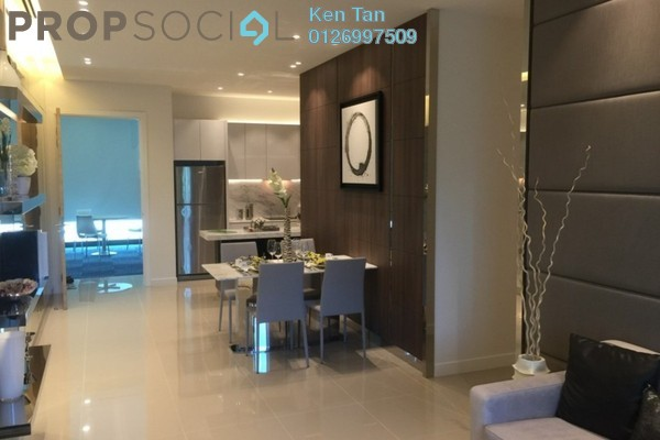 For Sale Condominium at United Point Residence, Segambut Freehold Unfurnished 3R/2B 480k