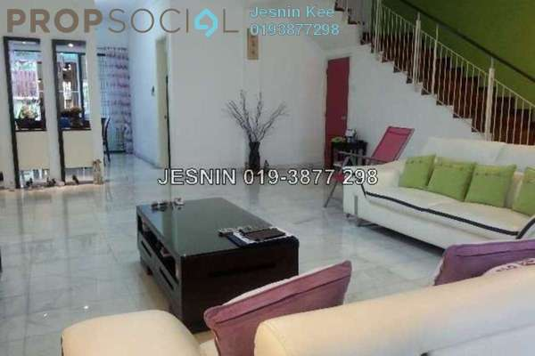For Sale Terrace at Taman Esplanad, Bukit Jalil Freehold Fully Furnished 5R/4B 1.9m
