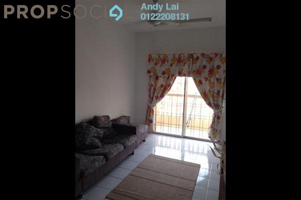 For Rent Apartment at Sri Lavender Apartment, Kajang Freehold Fully Furnished 3R/2B 1.2k