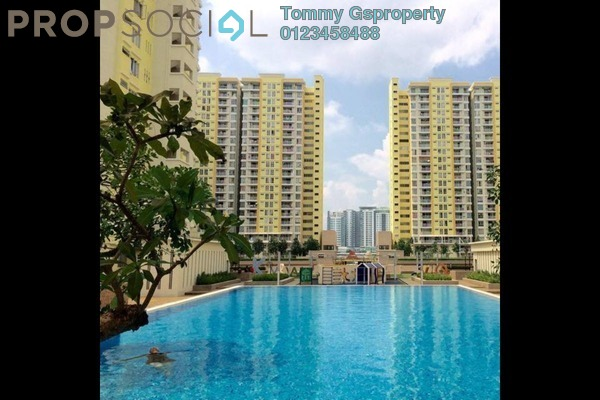 For Rent Condominium at Platinum Suites, KLCC Freehold Fully Furnished 4R/2B 2.1k