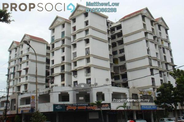 For Rent Condominium at Taman Harbour View, Georgetown Freehold Semi Furnished 3R/2B 1.0千