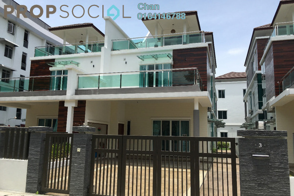 For Sale Semi-Detached at Jalan Adams, Georgetown Freehold Semi Furnished 5R/6B 4.5m