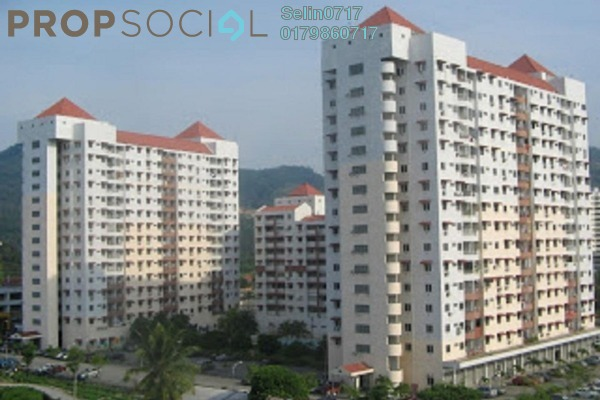 For Rent Apartment at Taman Seri Sari, Relau Freehold Semi Furnished 3R/2B 750translationmissing:en.pricing.unit