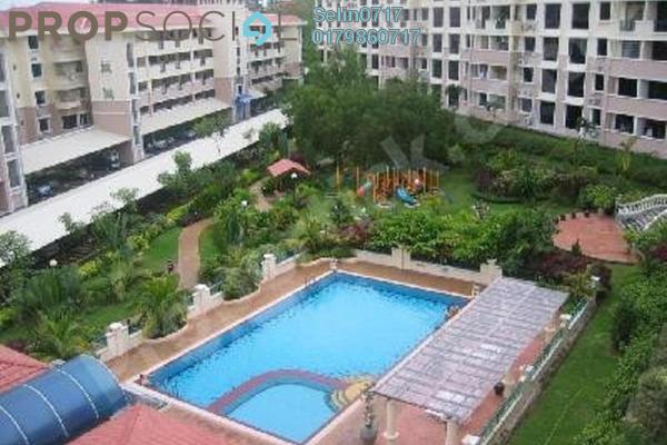For Rent Condominium at Sunrise Garden, Sungai Ara Freehold Unfurnished 3R/2B 1.3k