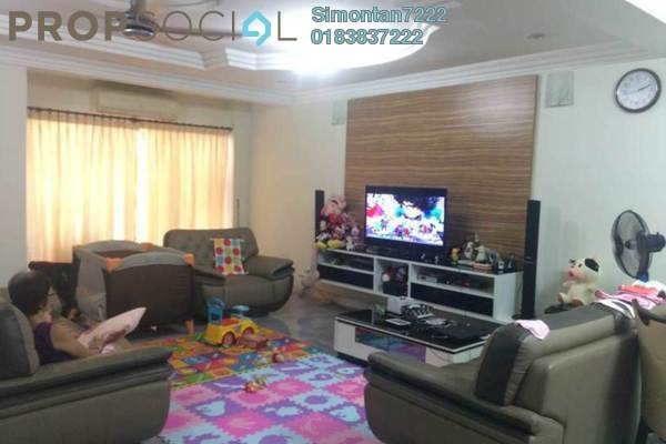 For Sale Terrace at Bayan Hill Homes, Bandar Puchong Jaya Freehold Semi Furnished 6R/4B 988k