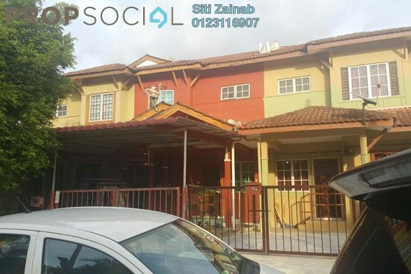 For Sale Terrace at Bandar Puncak Alam, Kuala Selangor Leasehold Semi Furnished 3R/3B 300k