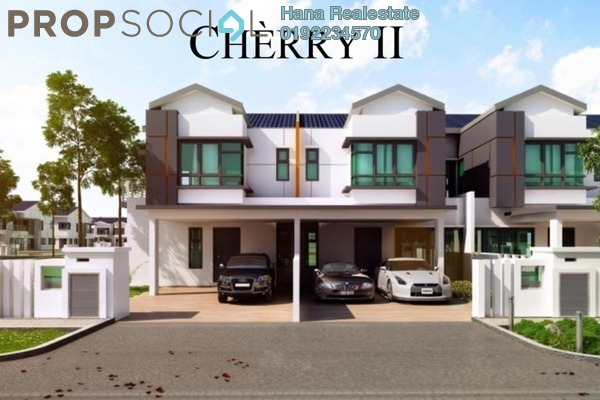For Sale Terrace at Puncak Perdana, Shah Alam Leasehold Unfurnished 4R/4B 655k
