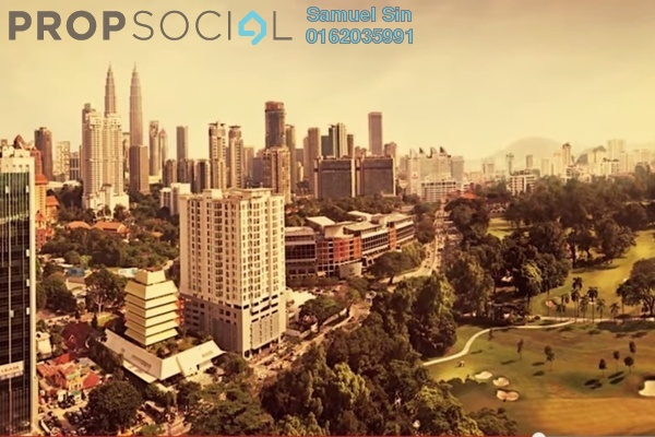 For Sale Apartment at The Horizon Residences, KLCC Freehold Semi Furnished 3R/3B 1.85m