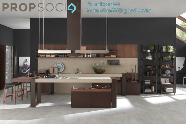 Kitchen modern designs of italian stylish with brown beige wooden kitchen cabinets and two pendant lamps fixtures above bar kitchen table 1120x589 k7iedzf2wg6bus mx pr small