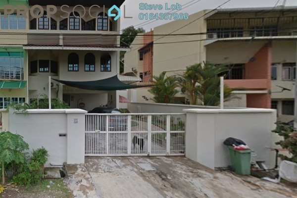 For Sale Terrace at Taman Century, Batu Uban Freehold Semi Furnished 5R/4B 2m