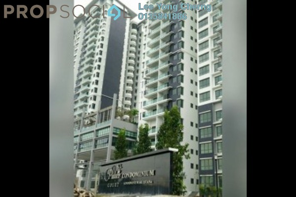 For Sale Condominium at KL Palace Court, Kuchai Lama Leasehold Semi Furnished 2R/2B 520k