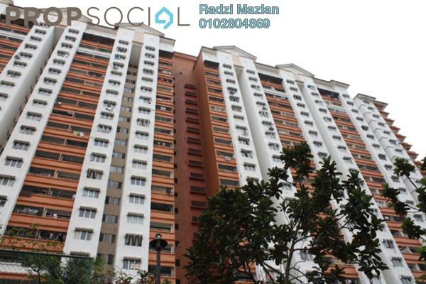 For Rent Apartment at Flora Damansara, Damansara Perdana Leasehold Semi Furnished 3R/2B 1.1k