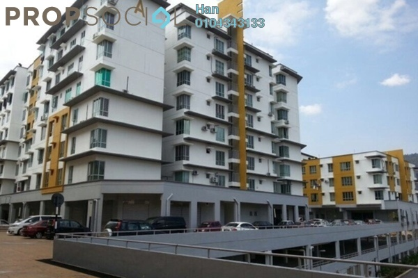 For Sale Serviced Residence at 162 Residency, Selayang Leasehold Unfurnished 3R/2B 269k