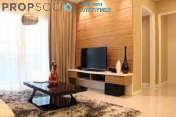 For Rent Condominium at 288 Residency, Setapak Freehold Semi Furnished 4R/3B 2.05k