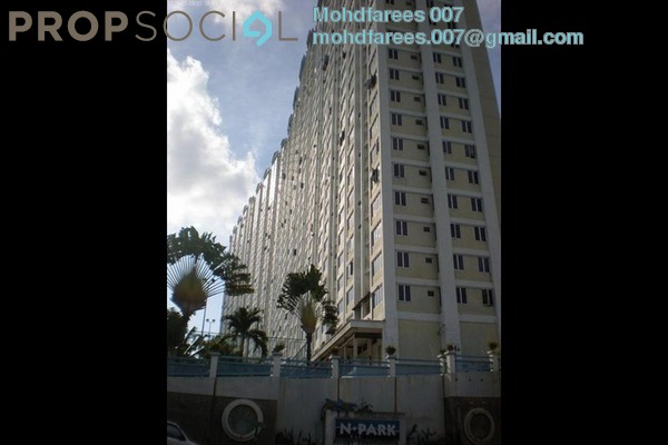 For Rent Condominium at N-Park, Batu Uban Freehold Semi Furnished 3R/2B 1.1k
