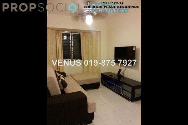 For Rent Condominium at Main Place Residence, UEP Subang Jaya Freehold Fully Furnished 2R/1B 2k