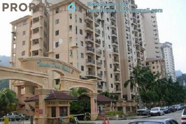 For Rent Condominium at Villa Condominium, Relau Freehold Semi Furnished 3R/2B 800translationmissing:en.pricing.unit