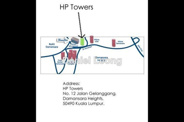 For Rent Office at Menara HP, Damansara Heights Leasehold Unfurnished 0R/0B 11.1k