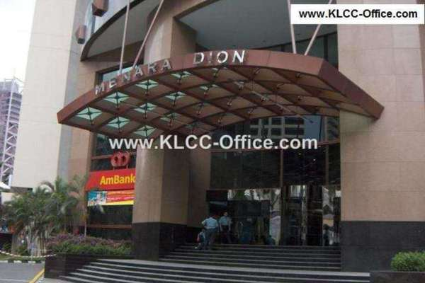 For Rent Office at Menara Dion, KLCC Leasehold Unfurnished 0R/0B 15k