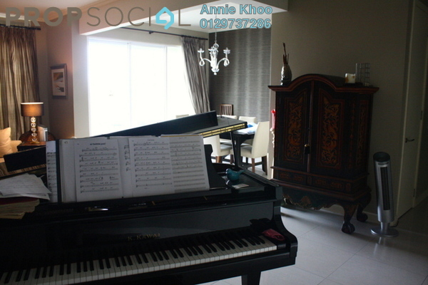 For Rent Condominium at Kiaramas Ayuria, Mont Kiara Freehold Unfurnished 3R/3B 5k