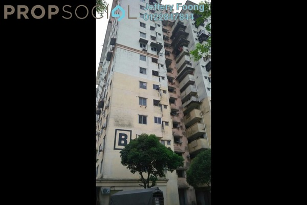 For Sale Apartment at Sri Rakyat Apartment, Bukit Jalil Freehold Unfurnished 3R/1B 220k
