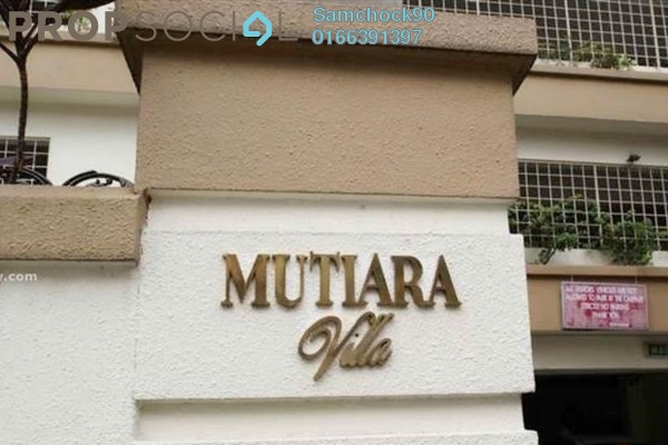For Sale Condominium at Mutiara Villa, Bukit Ceylon Freehold Fully Furnished 2R/2B 680k