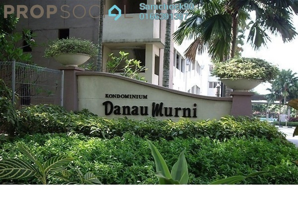 For Sale Condominium at Danau Murni, Taman Desa Leasehold Fully Furnished 3R/2B 380k