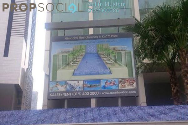 For Sale Condominium at Quadro Residences, KLCC Freehold Semi Furnished 4R/4B 2.58m
