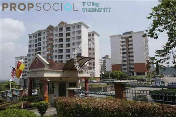 For Sale Apartment at Kenanga Apartment, Pusat Bandar Puchong Freehold Unfurnished 3R/2B 335k