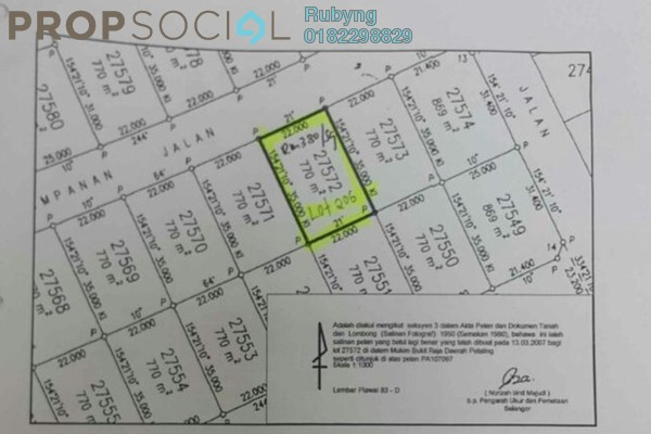 For Sale Land at Setia Eco Park, Setia Alam Freehold Unfurnished 0R/0B 3.15m